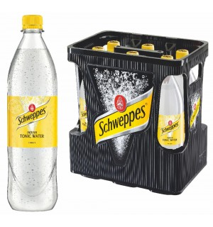 Schweppes Tonic Water 6 x 1,0 l